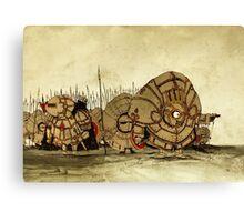 Humpty Dumpty's knights Canvas Print