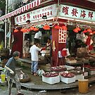 Seafood shop, Hong Kong by Maggie Hegarty