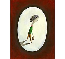 Madame - Woman with Purse Photographic Print