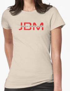 JDM Japanese Domestic Market (light background) Womens Fitted T-Shirt