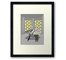 The Seventh Doctor Framed Print