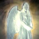 Angel of light by Marie Luise  Strohmenger