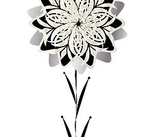 Art Deco Blooming Number 3 by CecelyBloom