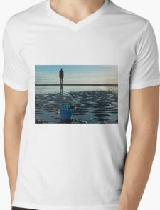 The end of the day Mens V-Neck T-Shirt