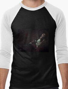 Gothic sleeping Beauty Men's Baseball ¾ T-Shirt