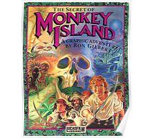 The Secret of Monkey Island Poster