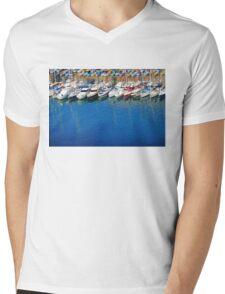 The Port of Nice, FRANCE Mens V-Neck T-Shirt