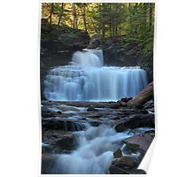 RB Ricketts Falls, Ricketts Glen State Park Poster