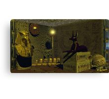 Inside the Tomb Canvas Print
