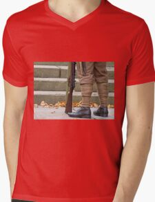 Off to the great war Mens V-Neck T-Shirt