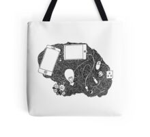 Wired brain Tote Bag