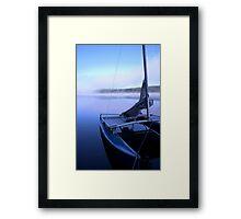 Hobie on Kennebec Lake Framed Print