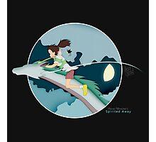 Ghibli Cutouts - Spirited Away Photographic Print