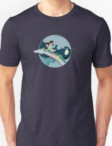 Ghibli Cutouts - Spirited Away Unisex T-Shirt