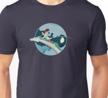Ghibli Cutouts - Spirited Away Unisex T-Shirt
