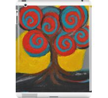 Recovery Tree ~ print of oil pastel portrait iPad Case/Skin