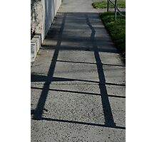 Walk a crooked line Photographic Print