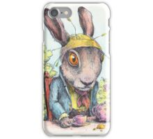 March Hare in May iPhone Case/Skin