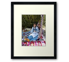 Rosalee Lane, Creek Potter, Panama City, FL Framed Print