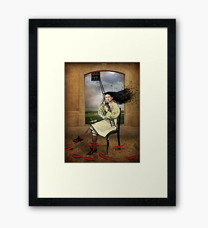 Her choice Framed Print