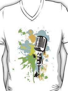Old Skool Microphone T-Shirt