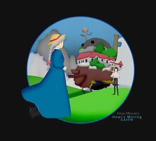 Ghibli Cutouts - Howl's Moving Castle by artsy-alice