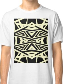 black and yellow Classic T-Shirt