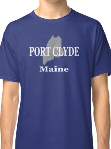 Port Clyde Maine State City and Town Pride  Classic T-Shirt