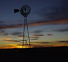 Sunset over the Plains by Paul Magnanti
