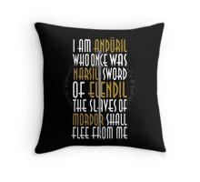 Sword of the King Throw Pillow