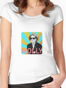 Molly Women's Fitted Scoop T-Shirt