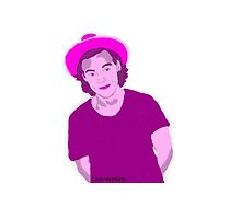 Violet Harry Styles by Louis-aesthetic