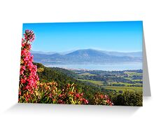 Saint Tropez Bay, View from Gassin Greeting Card