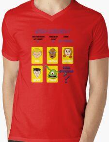 Guess CthulWho? Mens V-Neck T-Shirt