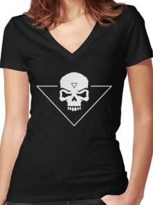 The Witcher 3 - You Are Dead Women's Fitted V-Neck T-Shirt