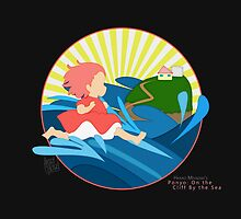 Ghibli Cutouts - Ponyo by artsy-alice