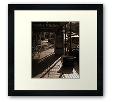 Vulture St - West End Series Framed Print