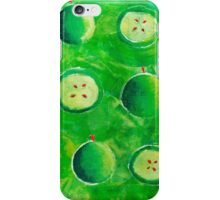 Apple Halves iPhone Case/Skin