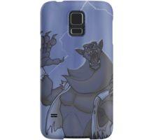 Badass Werewolf Roaring In Lightning Samsung Galaxy Case/Skin