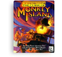 The Curse of Monkey Island Canvas Print