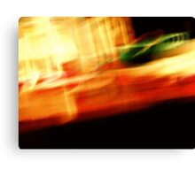 The Crap On My Coffee Table: Fun With Shutter Speed Canvas Print