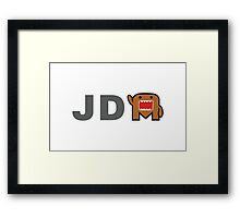 JDM Domo monster Framed Print