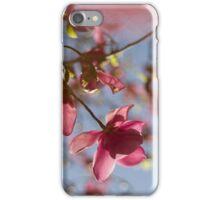 Pink Magnolia Tree iPhone Case/Skin