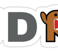 JDM Domo monster Sticker