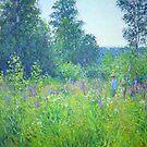 Alex in the field by Julia Lesnichy