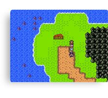 Gameboy Color Styled RPG Canvas Print