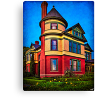 The House on the Corner Canvas Print