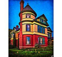 The House on the Corner Photographic Print