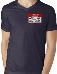 An agent by any other name Mens V-Neck T-Shirt