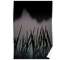 spear grass by dusk Poster
